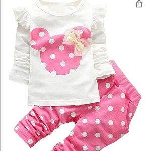 Minnie Outfit NWT